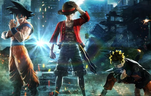 jump force, os principais personagens